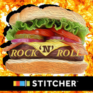 You can now listen to the Rock N Roll Cheeseburger podcast on Stitcher