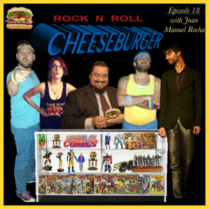 Rock N Roll Cheeseburger with Kyle Duncan Graham, Valerie Tosi, Juan Manuel Rocha, Dan Lawler, and Tikku Sircar.
